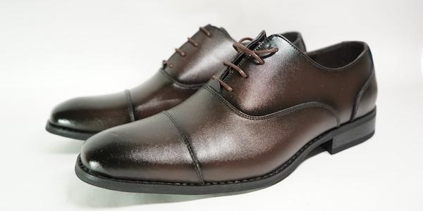 男性薬剤師の靴