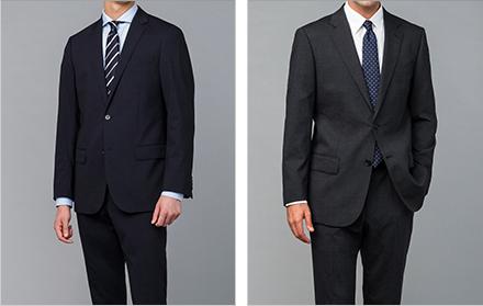 男性薬剤師のスーツ